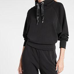 Funnel Neck Dolman Sleeve Sweatshirt | Express