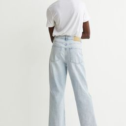 Loose Straight High Jeans | H&M (US)