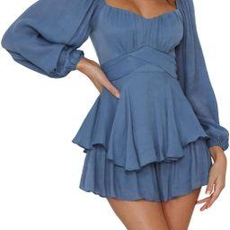 Fixmatti Women Boho Romper Off Shoulder Floral Print Chiffon Shorts Jumpsuit   Amazon (US)