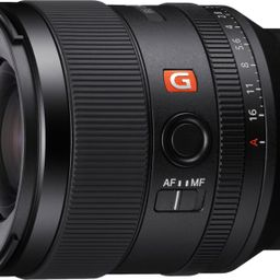 Sony Alpha FE 35mm F1.4 GM Full Frame Large Aperture Wide Angle G Master E mount Lens Black SEL35... | Best Buy U.S.