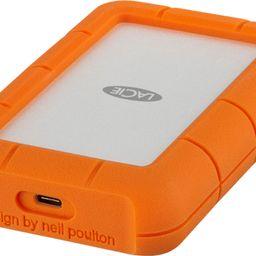 LaCie Rugged USB-C 4TB External USB 3.1 Gen 1 Portable Hard Drive Orange/Silver STFR4000800 - Bes... | Best Buy U.S.