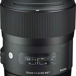 Sigma 35mm f/1.4 DG HSM Art Standard Lens for Canon Black 340101 - Best Buy | Best Buy U.S.