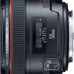 Canon EF 50mm f/1.2L USM Standard Lens Black 1257B002 - Best Buy | Best Buy U.S.