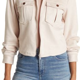 Ookie & Lala Collared Faux Suede JacketOOKIE AND LALA | Nordstrom Rack