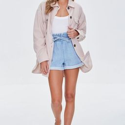 Oversized Button-Front Shacket | Forever 21 (US)