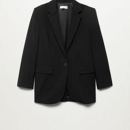Pocketed oversize blazer   MANGO (US)