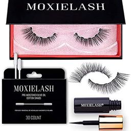 MoxieLash - Wifey Kit - Mini Magnetic Eyeliner, Set of Wifey Lashes & Makeup Removers - 5 Magnet ... | Amazon (US)