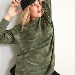 Oversized Vintage Specially Dyed Tunic Sweatshirt for Women | Old Navy (US)