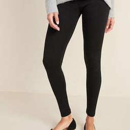 Mid-Rise Jersey Leggings for Women | Old Navy (US)