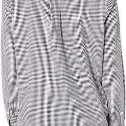 Amazon Brand - Goodthreads Women's Seersucker Long Sleeve Oversized Side Button Shirt | Amazon (US)