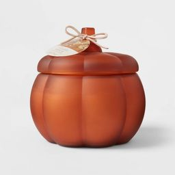 Large Pumpkin Spice Sundown Orange Candle - Threshold™ | Target