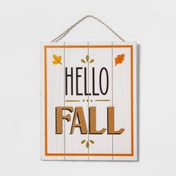 Harvest Sign Hello Fall - Hyde & EEK! Boutique™ | Target