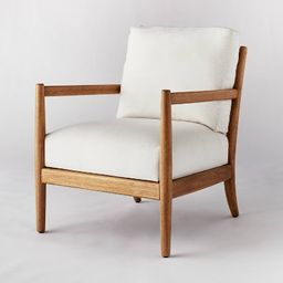 Park Valley Ladder Back Wood Arm Accent Chair - Threshold™ designed with Studio McGee   Target