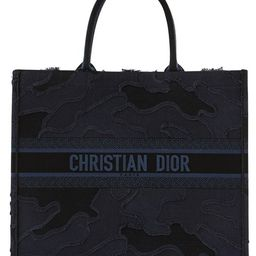 Dior canvas large book tote | 24S
