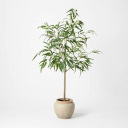 """73"""" Artificial Weeping Eucalyptus Tree in Pot - Threshold™ designed with Studio McGee   Target"""