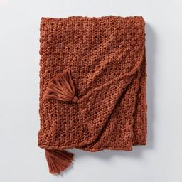 Chunky Knit Throw Blanket - Threshold™ designed with Studio McGee   Target