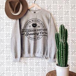 Halloween Sweatshirt, Premium Witches Brew, Sanderson Witch Sweatshirt, Hocus Pocus Sweat, Witche... | Etsy (US)