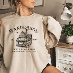 Sanderson Witch Museum Sweatshirt & T-Shirt, Halloween Sweatshirt All Sizes and Color S - 6XL Swe... | Etsy (US)
