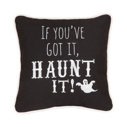 """C&F Home 10"""" x 10"""" If You've Got Haunt It Embroidered Halloween Pillow   Target"""
