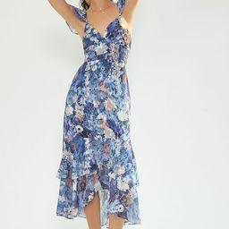 Ruffled Midi Dress | Anthropologie (US)