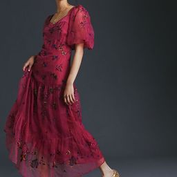 Let Me Be Embroidered Maxi Dress | Anthropologie (US)