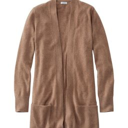 Women's Classic Cashmere Open Cardigan with Pocket | L.L. Bean