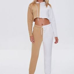 Colorblock Hoodie & Joggers Set | Forever 21 (US)