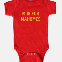 Kansas City, Baby Onesie, Mahomes, M is for Mahomes   Etsy (US)