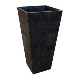 Tierra Verde 14 in. x 27.5 in. Slate Rubber Self Watering Planter-MT5100067CM - The Home Depot   The Home Depot