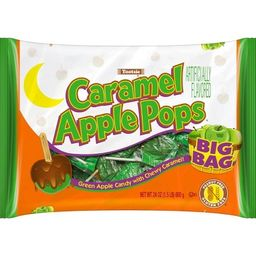 Caramel Apple Pops Halloween Bag - 24oz | Target