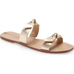 Antonia Double Bow Slide Sandal | Nordstrom