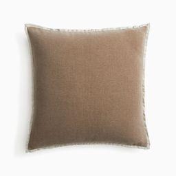 Classic Cotton Velvet Pillow Cover   West Elm (US)