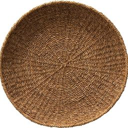 Creative Co-Op Hand-Woven Decorative Seagrass Tray, Natural | Amazon (US)