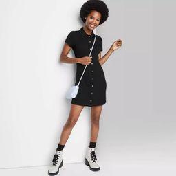 Women's Short Sleeve Bodycon Polo Dress - Wild Fable™ | Target