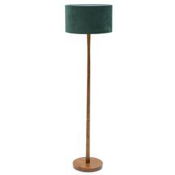 Wood Floor Lamp with Green Velvet Shade by Drew Barrymore Flower Home - Walmart.com   Walmart (US)