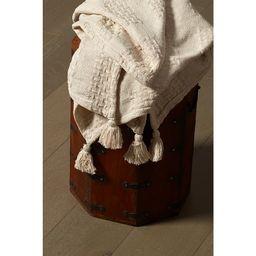 """Woven Paths Gingham Beige Patchwork Cotton Throw Blanket with Tassels, 50"""" x 60"""" - Walmart.com   Walmart (US)"""