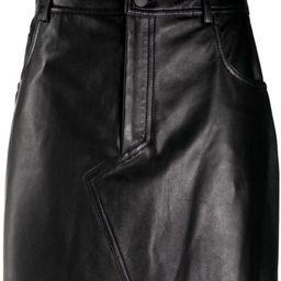 straight mini skirt   Farfetch (US)