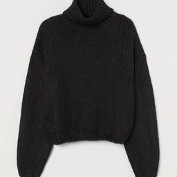 Chunky-knit Turtleneck Sweater | H&M (US)