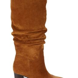 Julian Suede & Leather Knee-High Boots   Saks Fifth Avenue OFF 5TH