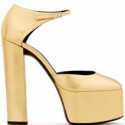 Giuseppe Zanotti Bebe Platform Leather Sandals - Farfetch | Farfetch (US)