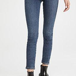 Rocket Ankle Mid Rise Skinny Jeans | Shopbop