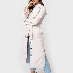 Belted Trench Duster Jacket | Gibson