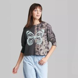 Women's Long Sleeve Boxy T-Shirt - Wild Fable™ | Target