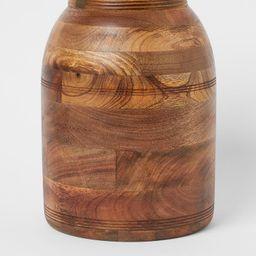 Mango Wood Vase   H&M (US)