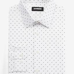 Slim Geo Print Stretch Cotton 1MX Dress Shirt | Express