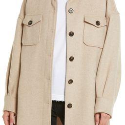 Twill Shirt Jacket | Nordstrom