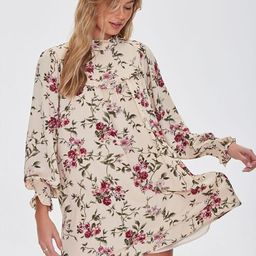 Recycled Floral Mini Shift Dress | Forever 21 (US)