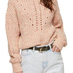 Textured Pointelle SweaterTOPSHOP   Nordstrom Rack