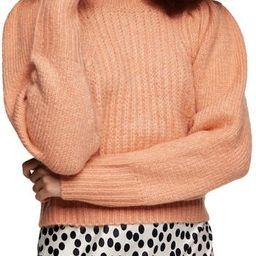 Crop Crewneck Sweater   Nordstrom Rack