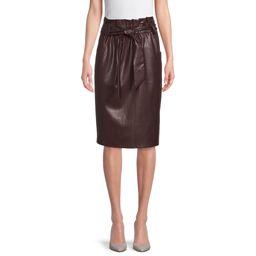Time and Tru Women's Paperbag Skirt - Walmart.com | Walmart (US)
